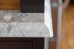 Granite bench with Ogee edge