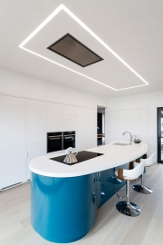Recessed Extractor and LED lighting