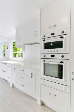 Smeg appliances in white