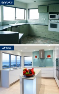 Before and After at 291 Oceanbeach