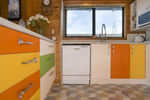 colourful eclectic kitchen nz
