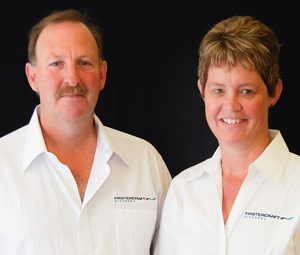 Dale and Vicki Summerfield of Mastercraft Kitchens Gisborne
