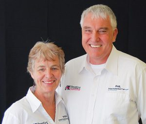 Phil & Vicki Greene of Mastercraft Kitchens Taupo