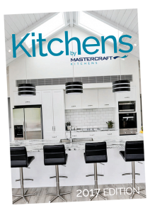 Mastercraft Kitchens Look Book 2017