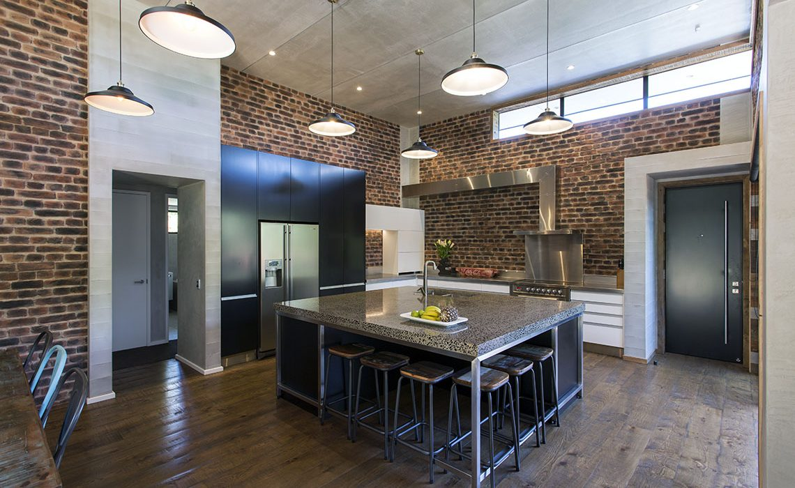 New York Loft Style Kitchen