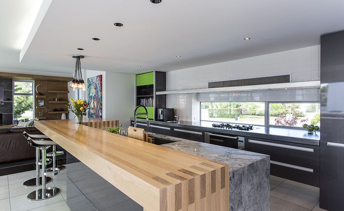 Funky Fun And Functional Kitchen Mastercraft Kitchens