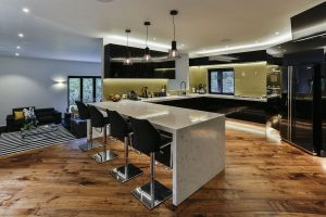Black and gold kitchen 9