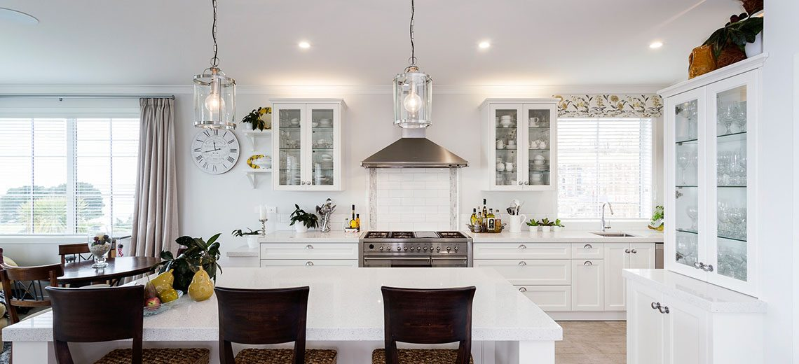 cape code style kitchen
