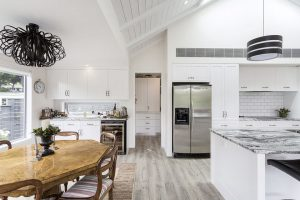 large white country style kitchen