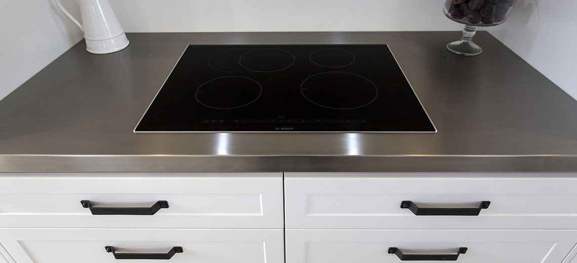 country kitchen hob stovetop induction
