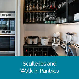 Sculleries and walk in pantries