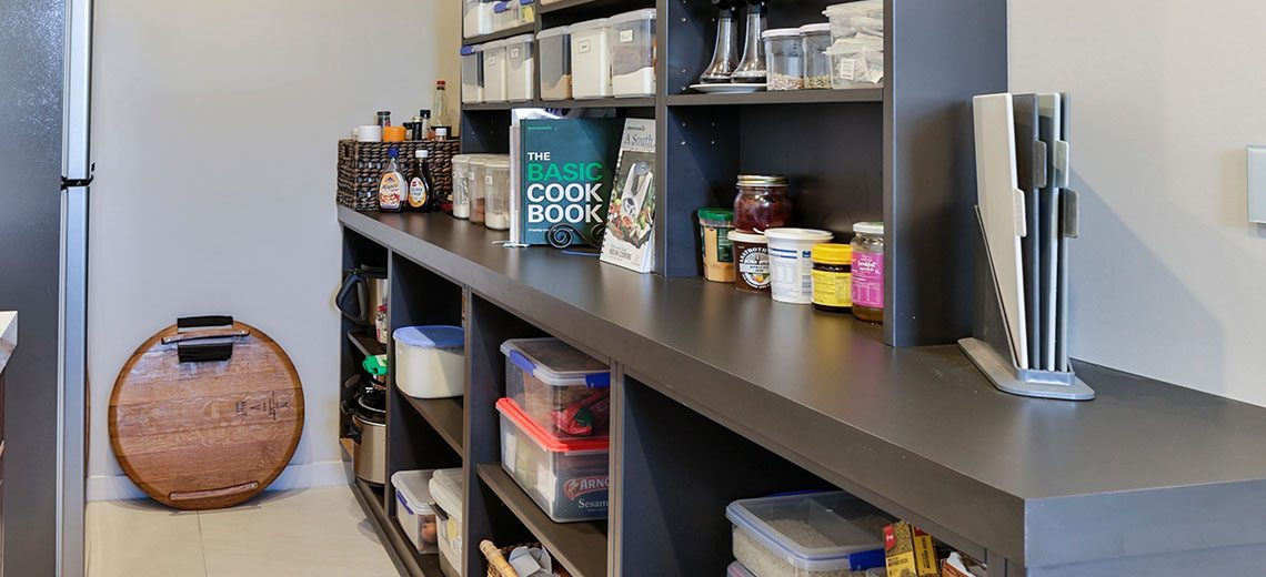 scullery pantry shelves