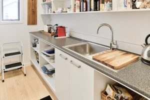 scullery pantry HPL benchtop