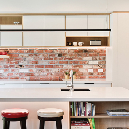 Brickworks Scandinavian kitchen