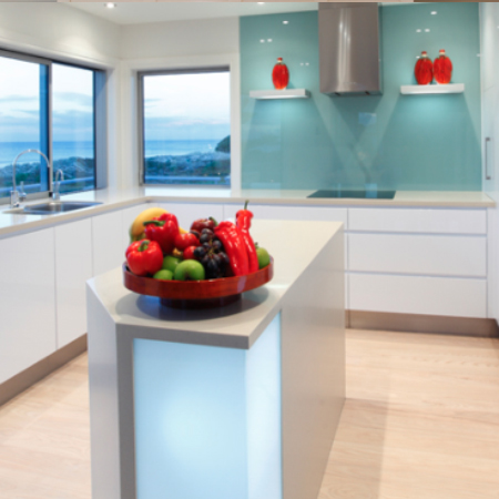 Kitchen renovation by the sea