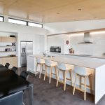 White and timber scandi kitchen