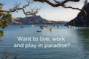 Want to live work and play in paradise